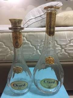 Brandy empty Bottles