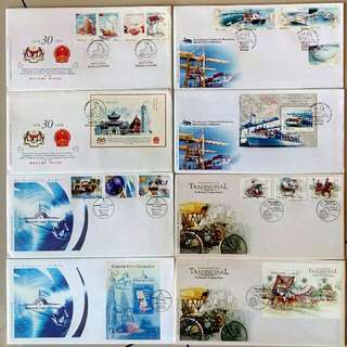 First Day Cover Year 2004