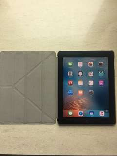 Apple iPad 2, 64G WiFi with new case cover
