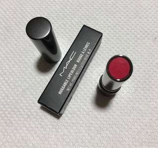 💯% Authentic MAC Huggable Lipcolour :Cantonese Carnation