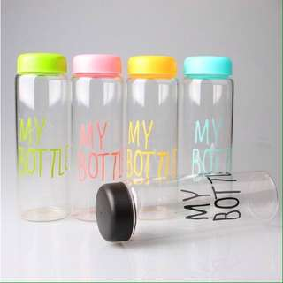 Botol Minum MY BOTTLE 500ml / infused water [TANPA POUCH]