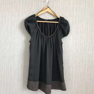 Zara Mini Black Short Dress