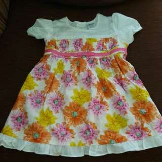 Reduced price rm10!!!!Baby kiko Dress