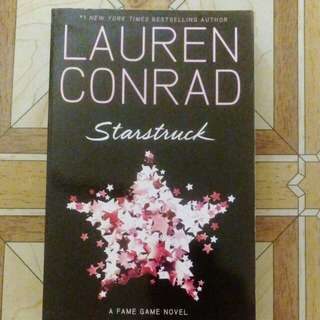 A Fame Game English Novel - Lauren Conrad Starstruck #FEB50