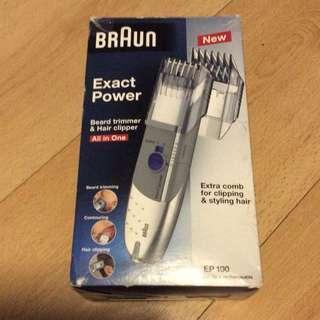 Braun EP 100 HairTrimmer & Clipper