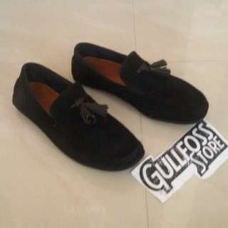 Coach New York Loafers Second Bekas Import Leather