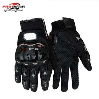 HNJ Open Face Helmet and Pro Biker Gloves