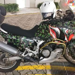 African twin xrv 750