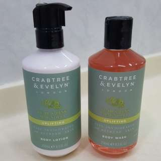 Uplifting Body Wash & Body Lotion