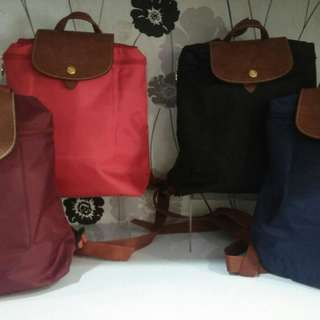 SUPER SALE !! LONGCHAMP BACKPACK CUSS CHATCHATCHATT 870rb
