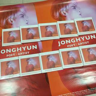[READY STOCK] JONGHYUN - Poet | Artist (With Poster)