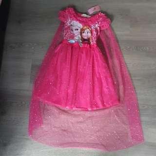 Frozen Cape Dress