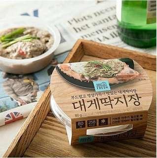 🇰🇷韓國預購 韓國瘋搶GS25 即食蟹黃醬🦀🦀
