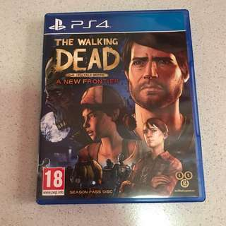 PS4 The Walking Dead: A New Frontier