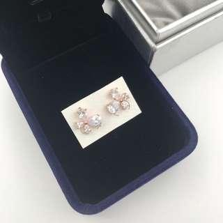 多款任選😍玫瑰金色簡約蝴蝶閃石耳環 Earrings