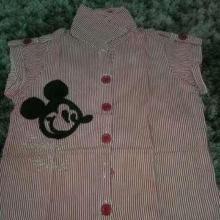 kemeja Mickey