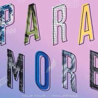 Paramore Lower Box Standing Ticket