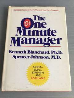 The one minute manager (hard cover)
