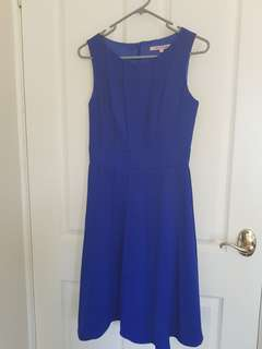 REVIEW blue races style dress!