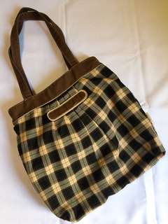 COSE CHECKERED BAG