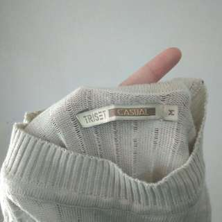 Sweater krem triset original