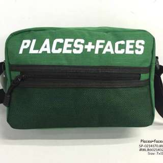 Places + faces bag size : 7*11 inches