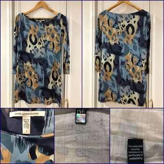 DVF Blue Shift Dress