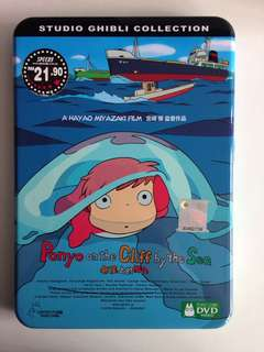 Ponyo on the Cliff by the Sea movie DVD