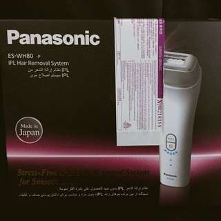 全新Panasonic彩光脫毛器 ES-WH80