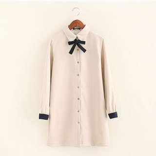 Korean Fashion Warm Fleece Dress