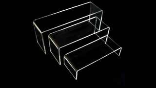 Acrylic display stand/rack - new