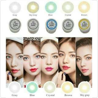 HD Coloured Eyes Contact Lens