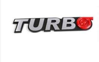 """""""Turbo"""" Emblem"""
