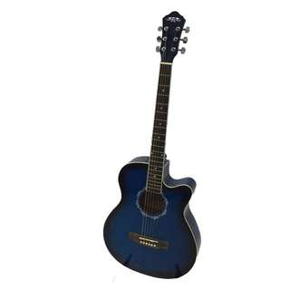Brand New Blue Acoustic Guitar