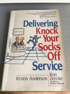 Delivering knock your socks off service!