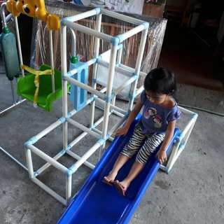 Swing slide and crawl