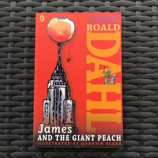 BRAND NEW Roald Dahl James and the Giant Peach Book