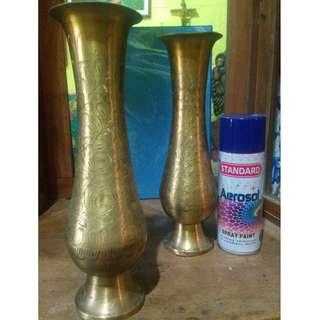 Antique Brass jar