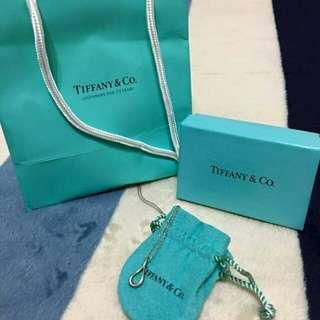 🚚 Tiffany 淚滴純銀項鍊