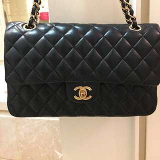 FULL SET CHANEL 2.55 Medium Flap (Gold Hardware)