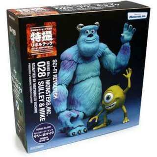 Revoltech Monsters Inc. Sully and Mike