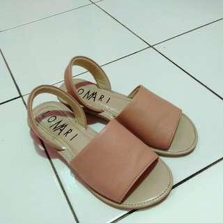 Sandal pinky peach