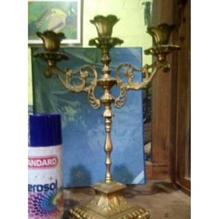 Antique Candelabra alloy brass finish