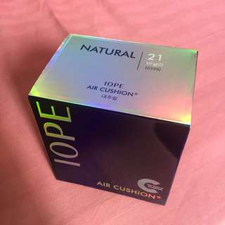 IOPE air cushion Natural 21 vanilla refill