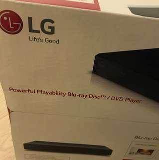 LG Blu-ray Disc DVD player