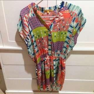 Dress colorful