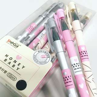 Honey Baby (Erasable Gel Pen) 12/pcs per box