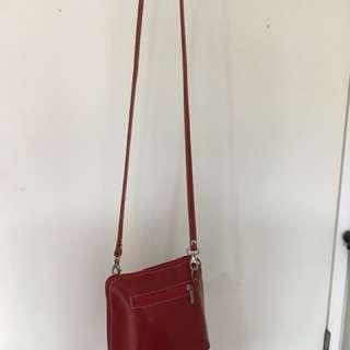 Authentic 'Vera Pelle' Leather bag