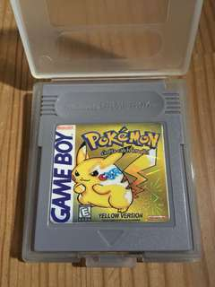 Pokemon Gameboy Cartridges