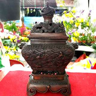 老銅香炉 Copper Incense Burner